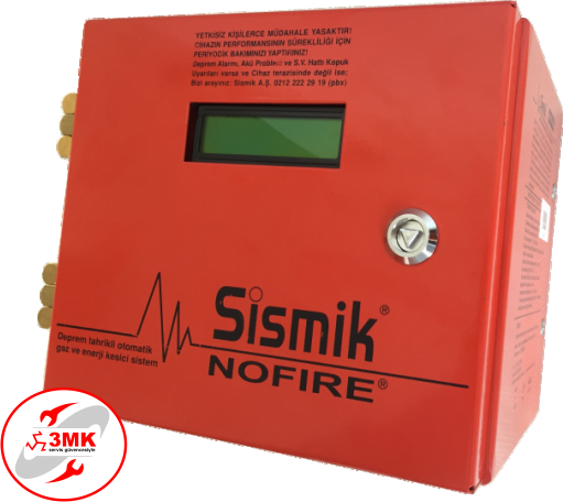 Sismik NOFIRE Electromechanical Earthquake Sensor